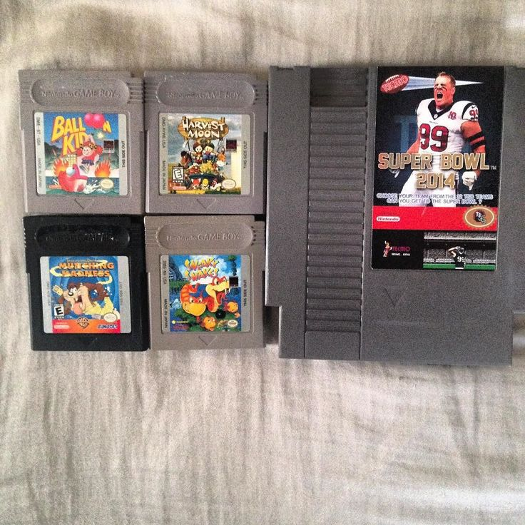 punkposer83: Went Christmas shopping last night and as always picked myself up a few things. I'm a sucker for cute (but not always great) gameboy games. Plus I've wanted the updated roster Techmo Bowl for a while now. #nintendo #nintendo #nes #neslife #gameboy #nfl #football #taz #harvestmoon #retro #collector #techmobowl #gameboy #microobbit