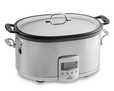 All Clad slow cooker  nothing beats it for pot roasts...slow cooked stews, soups and pulled pork