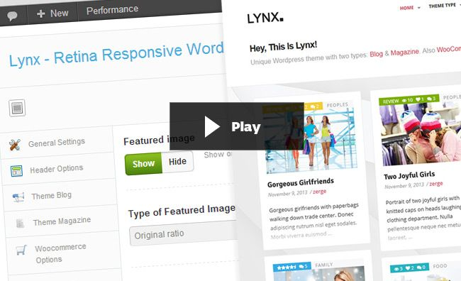 Lynx is a clean, super-duper customizable & flexible theme with fully responsive design. Built with HTML5 & CSS3 & Bootstrap 3, a lot of thought and care went into this theme making it a pleasu...