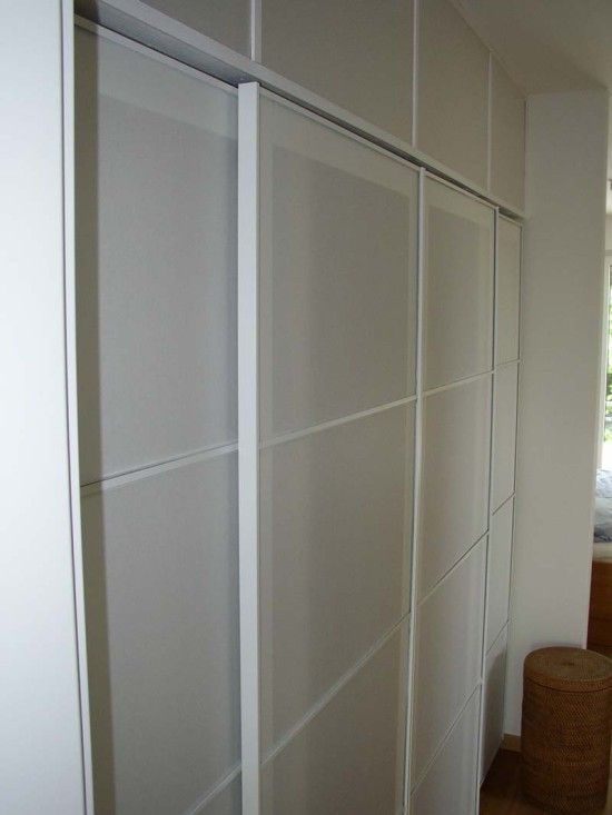 17 best images about pax look on pinterest sliding doors for Ikea glass sliding doors