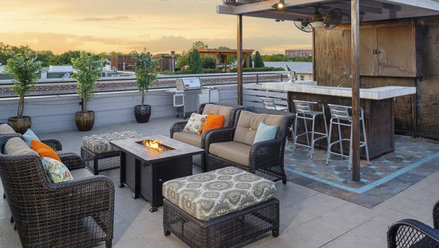 """If warmer weather leaves you longing for a roof deck, then you need to check out this video featured on CBS / Channel 11's """"Living Large"""" segment. The townhouse at 3911 Gilbert Avenue #B in Oak Lawn has a gorgeous roof deck with panoramic views of Dallas. Imagine the possibilities for entertaining."""