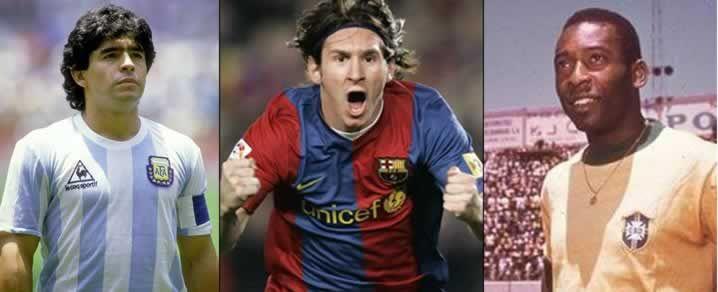 Pele Vs Maradona Vs Messi: Is This Possible To Compare Them