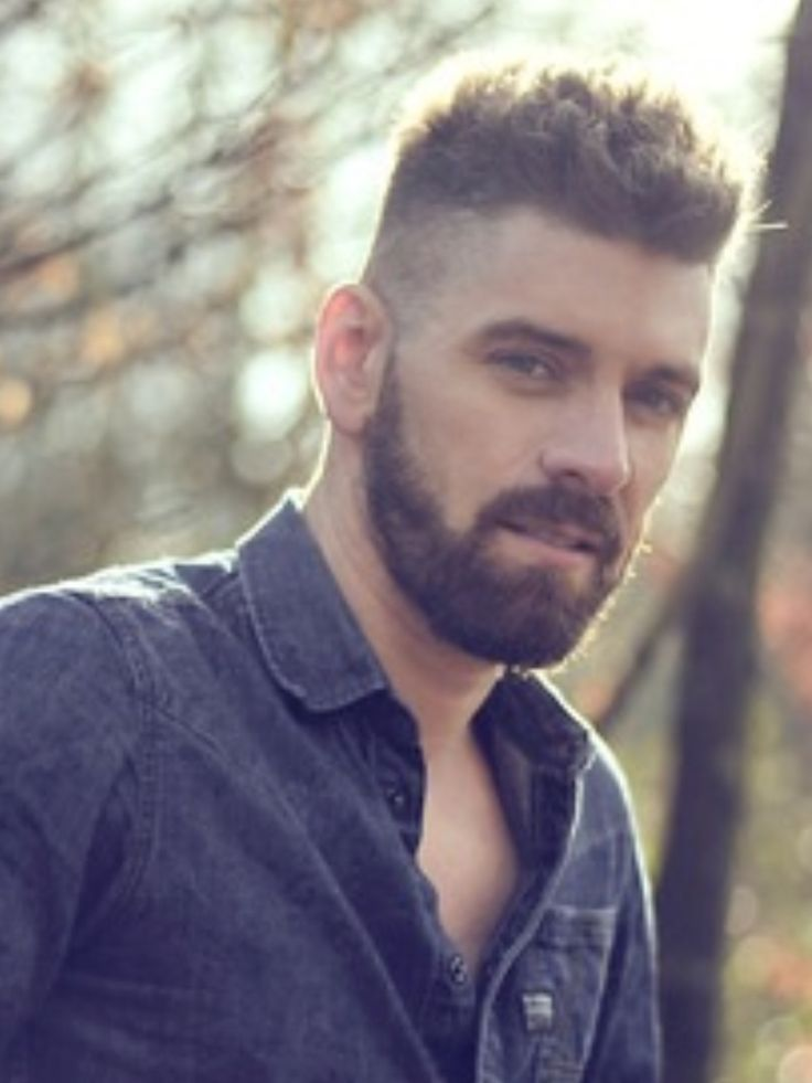 Hairstyles For Men With Beards Endearing 438 Best Cortes Mas Culino Images On Pinterest  Man's Hairstyle