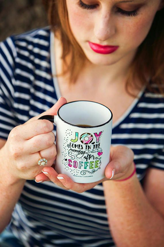 ABOUT ALEXANDRIA... Hi there! Im Alexandria, the designer and owner of Absolutely Alexandria. Im a small town all american girl with a love for cute and simple things. I LOVE me some COFFEE and quiet in the morning... so you can definitely see why I enjoy designing fun mugs! I also
