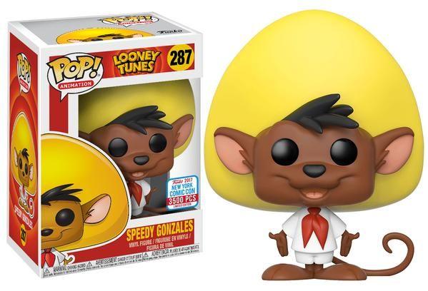 Funko pop. Looney Tunes. Speedy Gonzales. Comic Con. Limited Edition.