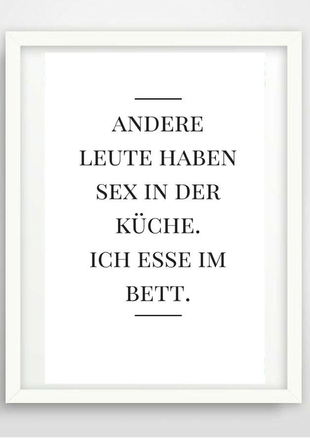 Typo Poster Essen, Wohndeko / artprint black and white, wall decoration made by Pap-Seligkeiten via DaWanda.com