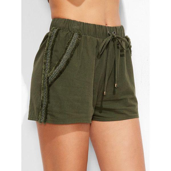 Best 25  Lace trim shorts ideas on Pinterest | Thrift store ...