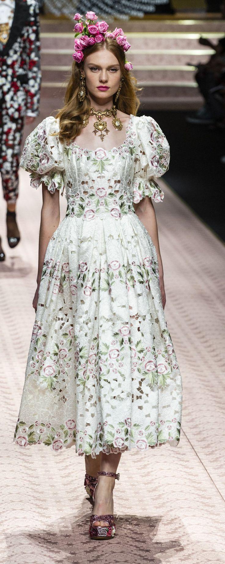 Dolce & Gabbana Spring-summer 2019 – Ready-to-Wear – www.orientpalms.c… – ©Im…