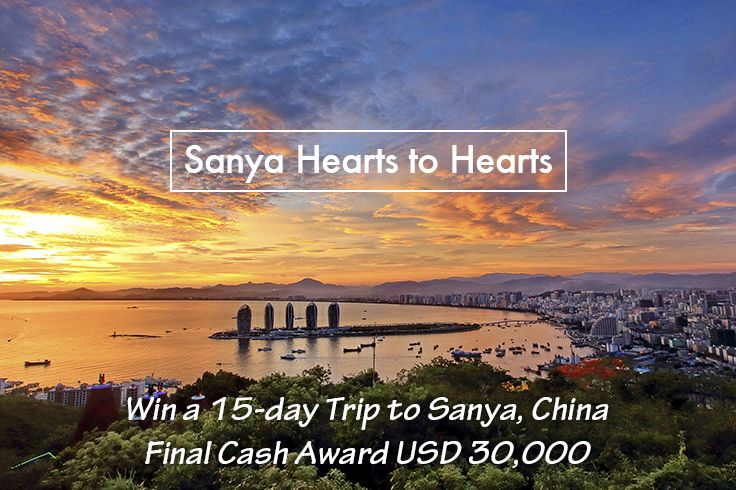 """Want a 15-day #FreeTrip to #Sanya, #China? Even $30,000? Join our #SanyaHeartstoHearts #campaign!  ONLY 2 steps to have a bird's-eye view of the amazing scenery at #Sanya: 1. Comment """"I want to join #SanyaHeartstoHearts"""" below to enroll and be lucky for a #gift.  2. Two clicks to issue your invitation post: https://app.gotrips.net/#goto2 and compete for the final big prize. Learn more https://www.facebook.com/Sanya.China/app/572110882950571/ #SanyaH2HRecruitment"""