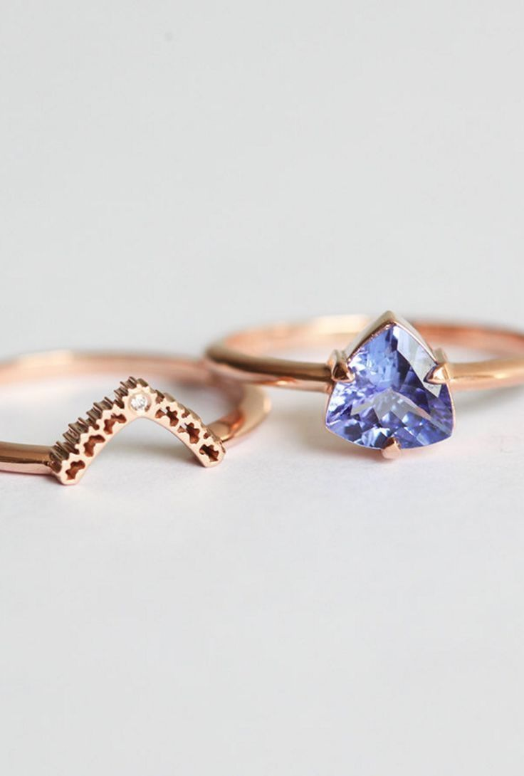 Gorgeous Rose Gold Nesting Rings Filename 50 Creative Silver
