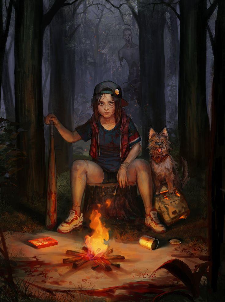 Post-Apocalypse, 수민 성 on ArtStation at https://www.artstation.com/artwork/post-apocalypse-70f3b7eb-524a-4f46-9adc-8201e5e97357