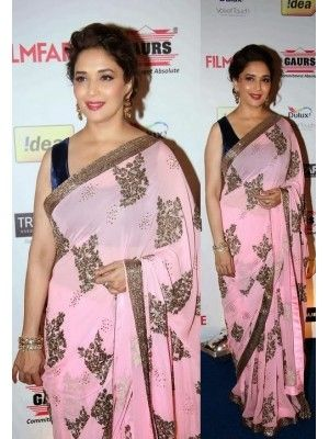 MADHURI DIXIT PINK DESIGNER BOLLYWOOD SAREE Check our New Bollywood collection, http://20offers.com/index.php?route=product/product&product_id=3149&search=madhuri#.Uz0AoaiSzxA , Available for shipping worldwide,  Buy Bollywood Sarees at lowest price in USA, CANADA, AUSTRALIA, NEW ZEALAND, SINGAPORE, MALYASIA ,UK, NETHERLANDS, FRANCE, JERMANY - Indian Clothing Online!