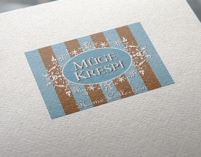 """Check out new work on my @Behance portfolio: """"Muge Krespi Home textile Logo"""" http://on.be.net/1BMtibO"""