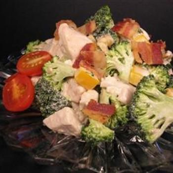 Chicken Broccoli Salad summer recipe