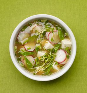 Miso Soup With Vegetables and Tofu: Recipes: Self.com - This is amazing - I feel so refreshed!