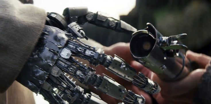 """Luke Skywalker's Robotic Hand Is A Part Of The Force Now          Star Wars director Rian Johnsonis usingdeductive reasoning to explain where Luke Skywalker's robotic hand goes at the end of The Last Jedi.    Attention!!! This is Just an Announce to view full post click on the """"Visit"""" Button Above"""