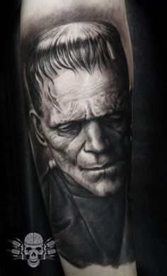 11 Freaky Frankenstein Tattoos