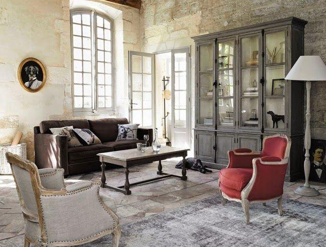 Las Nuevas Tendencias Decorativas De Maisons Du Monde En El Catálogo 2015 Etxekodeco Home Interior Accessories Interior Design Living Room Linen Armchair
