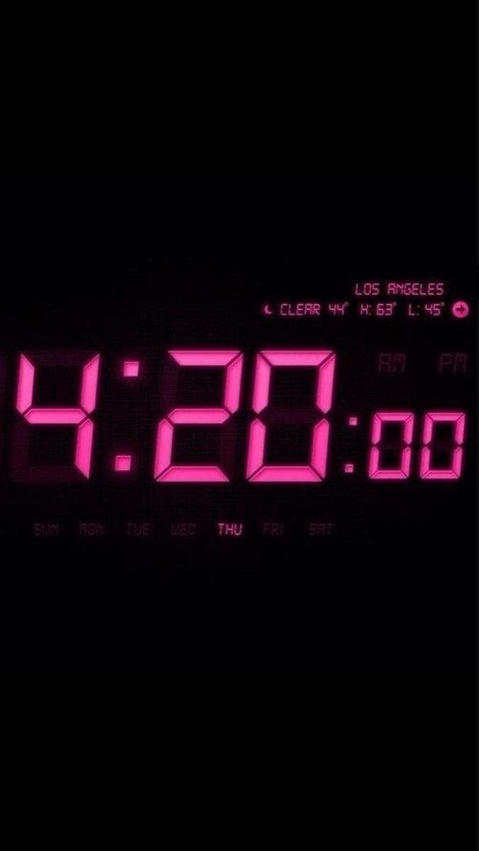 I Don T 420 Blaze It I 420 Praise It Pink Clocks Clock Icon Pink Aesthetic