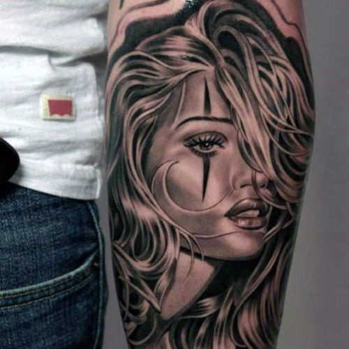 Manly Forearm Tattoo Ideas - Hot Woman