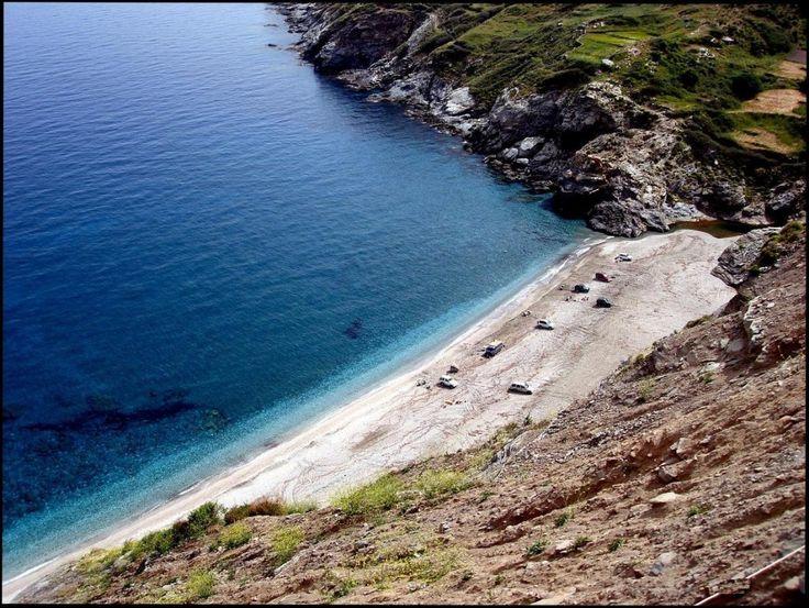 παραλία Σέριφος - by KOSTANDINA