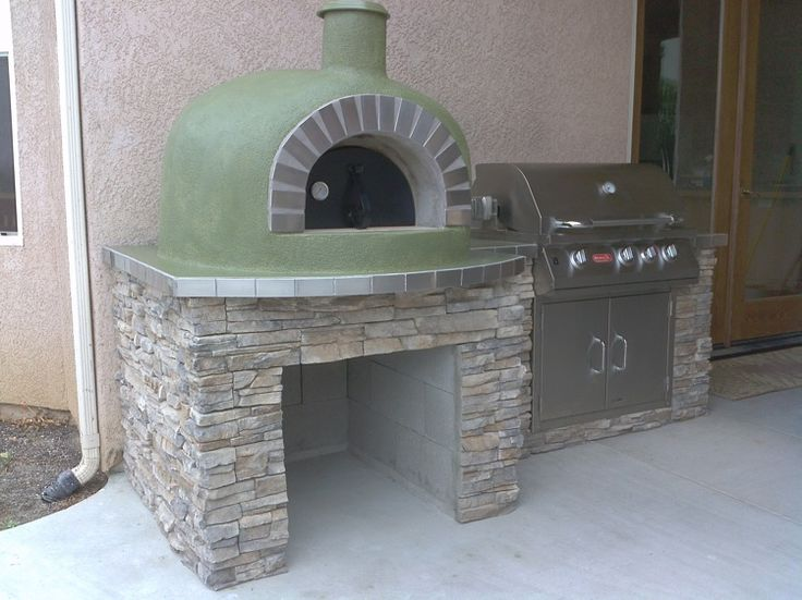pizza oven and bbq combo