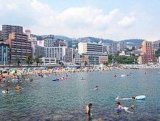 Atami sun beach- Shizuoka beaches less strict
