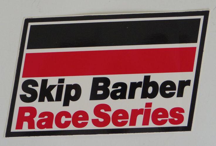 $4.99 Skip+Barber+Race+Series+Sticker