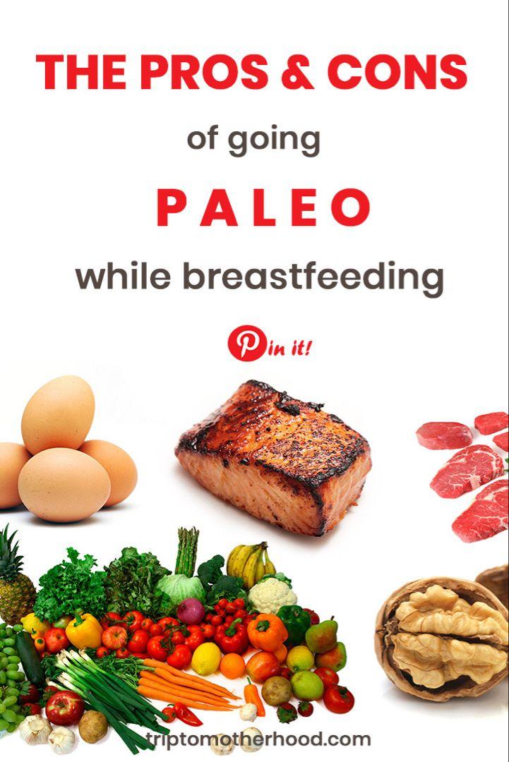 breastfeeding while paleo diet