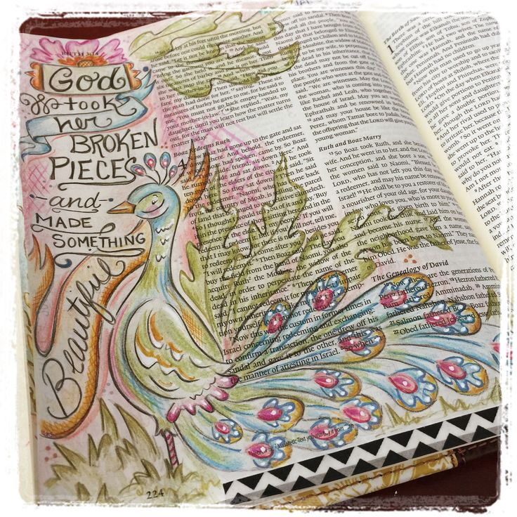 illustrated faith bible art Ruth 4