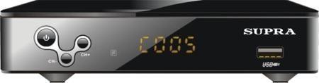 SUPRA SDT-99  — 943 руб. —  Приемник DVB-T/T2 (прием открытых каналов), Стандарт видео: H264, MPEG1/2, MPEG4, Стандарт аудио: AAC, MP3, AC3, ADPCM, MP1/2, PCM, Воспроизводимые форматы файлов: MP3, WMA, MP4, AVI, S26BMP, JPG, LED-дисплей, Функция записи телепередач на подключаемый носитель через USB-порт, Режим Отложенный просмотр (Time shift), Графическое меню с поддержкой русского языка, Отображение субтитров и телетекста на русском языке, Телегид на 7 дней (EPG), Возможность автоматической…