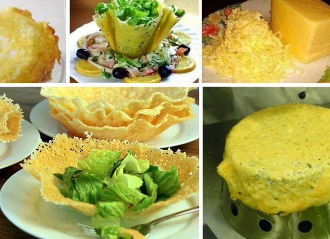 Στην κουζίνα με τα παιδιά: φωλίτσες παρμεζάνας για νόστιμες σαλάτες | InfoKids
