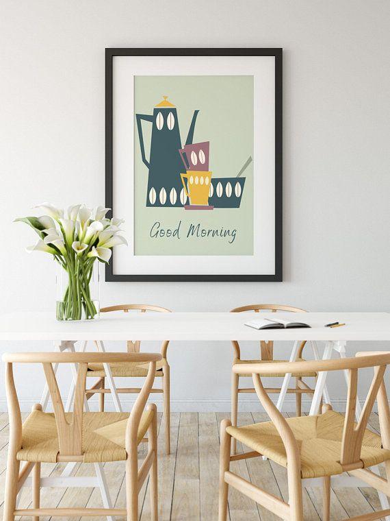 Wall Art Kitchen Print Quote Print Coffee Print Kitchen Art