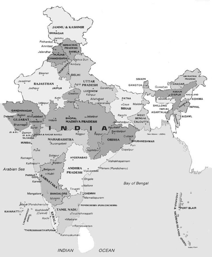 II tappa: l'India