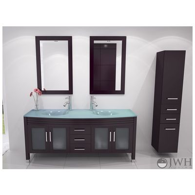 Best Modern Bathroom Vanities Images On Pinterest Modern - 63 inch double sink bathroom vanity for bathroom decor ideas