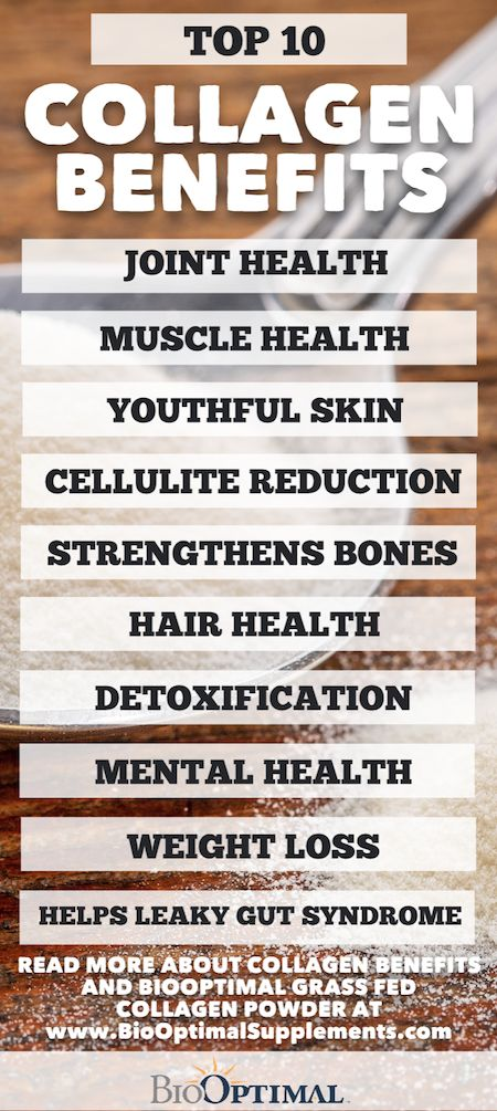 """The health benefits of collagen go far beyond just a """"beauty"""" supplement.  It's one of the best superfoods on the planet and offers a wide variety of health benefits.  BioOptimal outlines our Top 10 Collagen Benefits.  https://www.biooptimalsupplements.com/collagen-benefits/ #collagen #collagenbenefits #collagenpowder"""