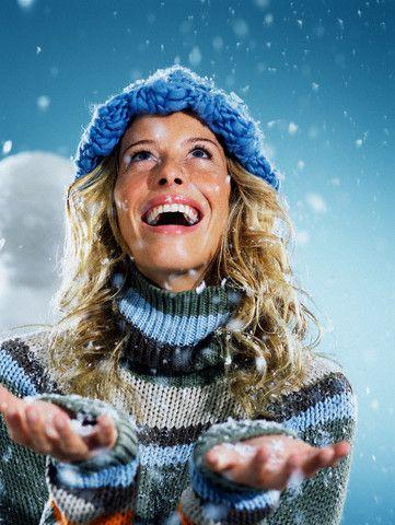 winter happy