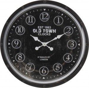 """Zegar ścienny """"Old Town"""" średniaca 60 cm"""