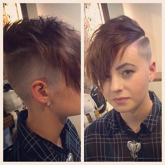 1432 Best Hot Lesbian Hair Images On Pinterest Pixie