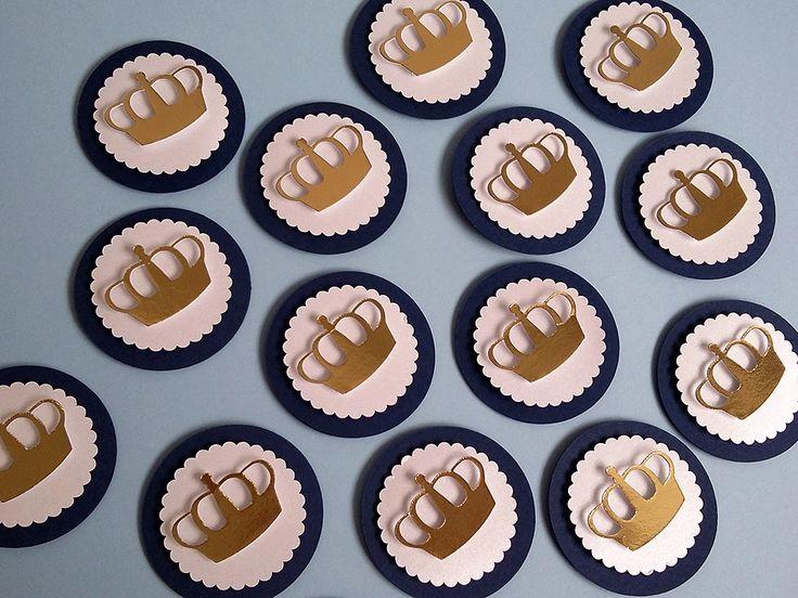 Para decoração da festa realeza, tags com lindas coroas para aplicação em latinhas mint to be, aplicação em tubetes, garrafinhas, caixinhas, etc.