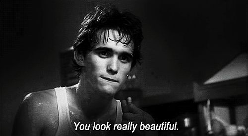 ok this is from rumble fish but i'm posting it anyway because he's saying this to patty/diane :')