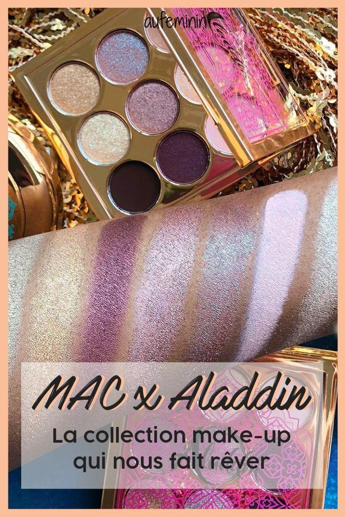 MAC Cosmetics x Aladdin, la collection Disney qu'on
