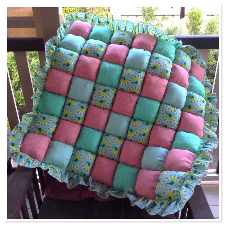 how to make a puff quilt