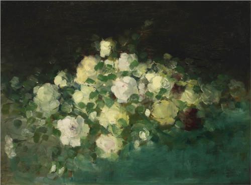 Wild Roses - Nicolae Grigorescu