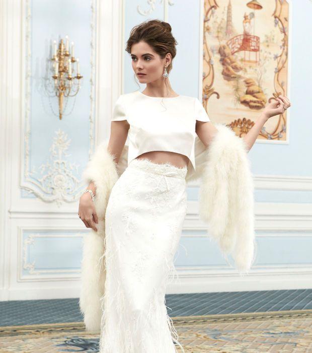 Robe de mariée 2 pièces - Sassi Holford