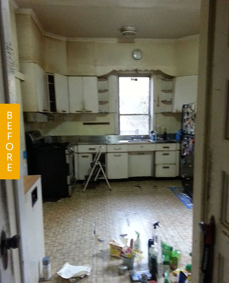 Before & After: A Budget Kitchen Remodel with Vintage Touches — Reader Kitchen Remodel