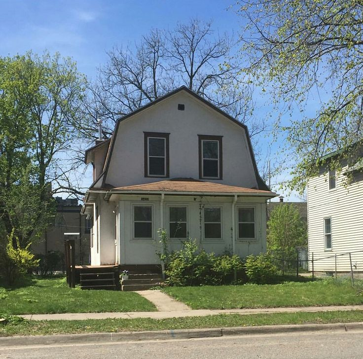 """The Minneapolis house where """"the Kid"""" lived in Prince's iconic 1984 movie Purple Rain. The address is 3420 Snelling Avenue. The 1,348-square-foot 3BR was built in 1913. The street runs between Hiawatha and Minnehaha in South Minneapolis's Longfellow neighborhood."""
