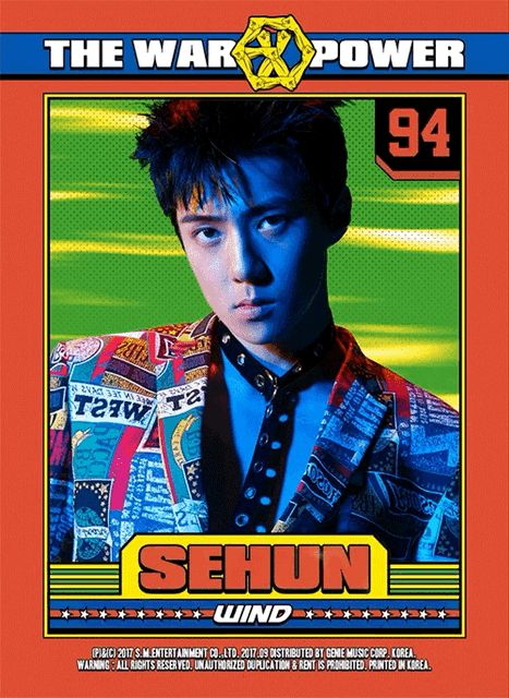 oh sehun | the war: the power of music | exo