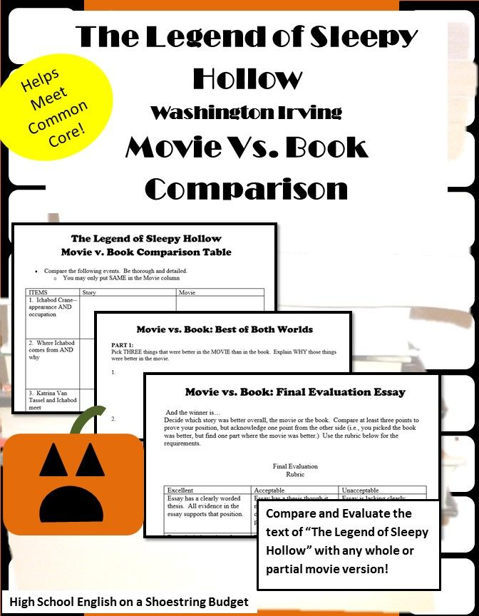 comparing and contrasting books and movies essay Essay about compare and contrast: call of the wild book and movie essay compare and contrast: call of the wild book and movie compare and contrast essay.