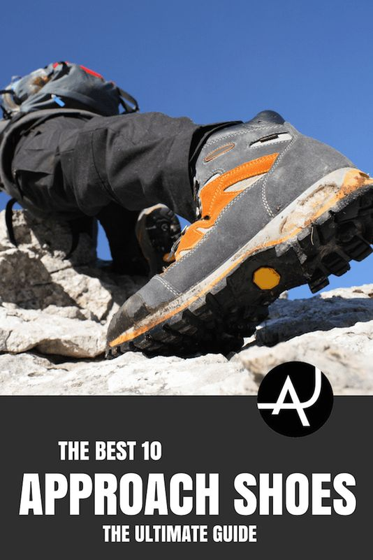 Top 10 Best Approach Shoes – Best Rock Climbing Clothes for Men and Women – Rock Climbing Outfits for Summer and Winter – What to Wear When Climbing Indoors via @theadventurejunkies